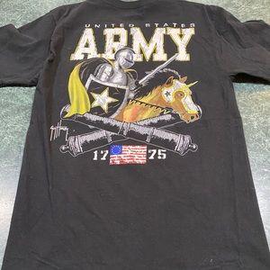 Guy Harvey United States Army Black Tee Sz Medium